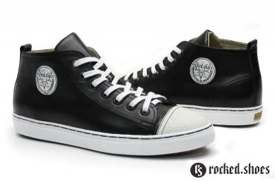 Кеды 1602 black&white